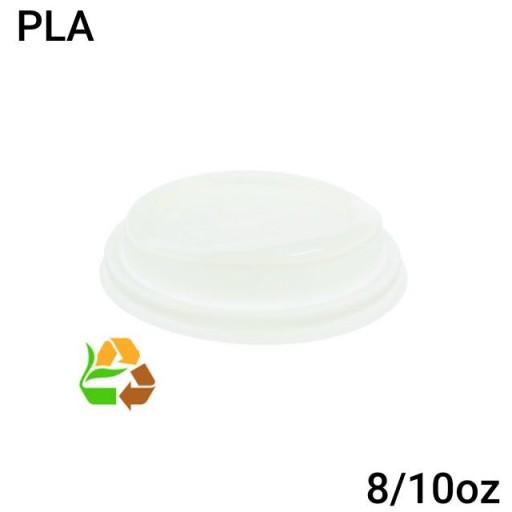 Tapa vaso compostable 8/10oz 1000 uni.