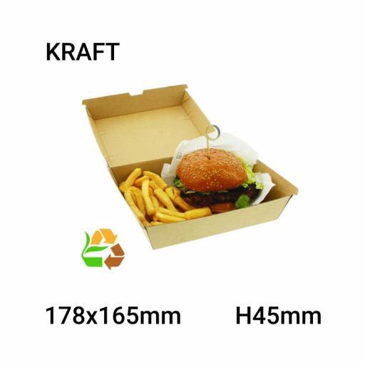 Envase comida compostable 150 uni.