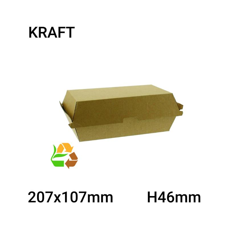 Envase comida compostable 200 uni.