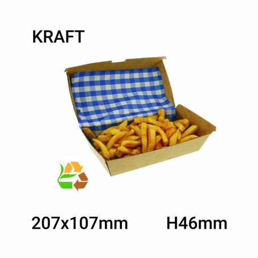 Envase comida compostable 200 uni. [1]