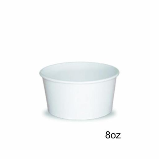 Tarrina helado 8oz 1000 uni. blanca [0]