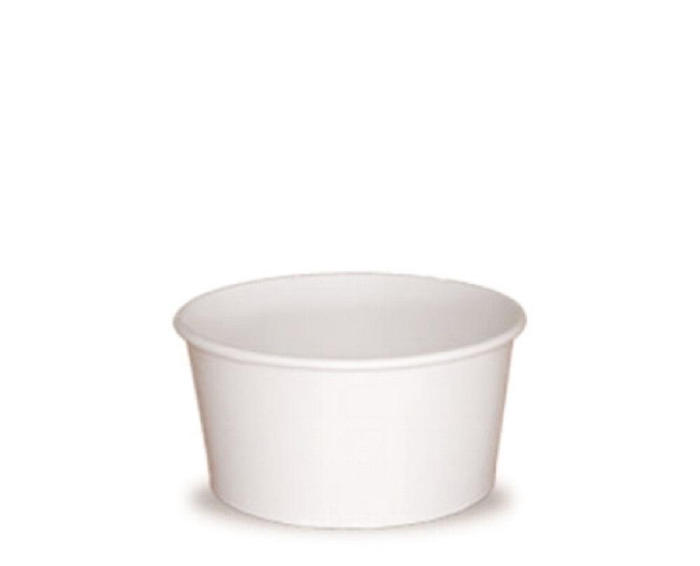 Tarrina helado 12oz 1000 uni. blanca
