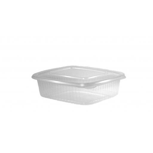 Envase bisagra oval 375ml 600 unidades
