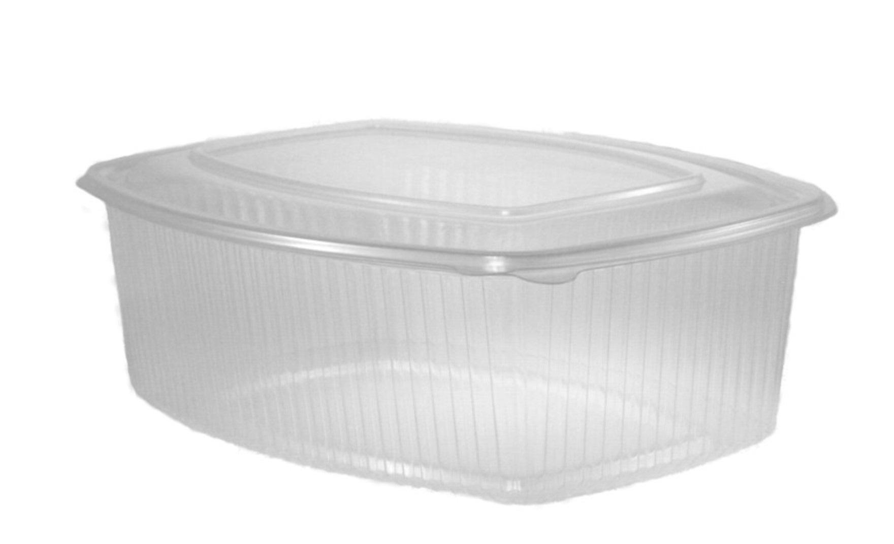 Envase bisagra oval 2000ml 200 unidades
