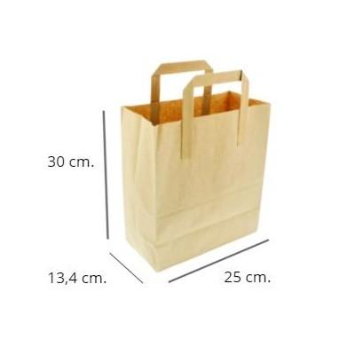 Bolsa papel kraft 250 uds. 30x25x13,4cm. [0]
