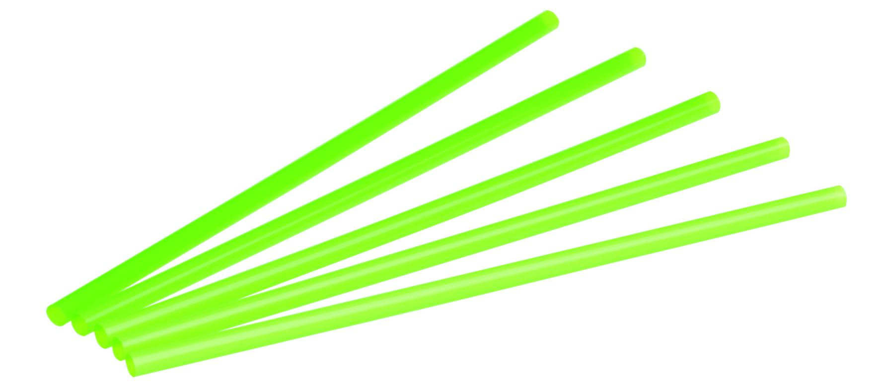 Pajita biodegradable PLA 10000 unidades verde