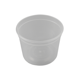 Tarrina reutilizable 750 ml. 300 uni.