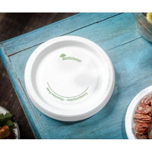 Plato compostable 15cm. 750 uni. [1]