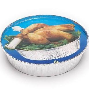 Tapa envase aluminio 1400/935ml. 500 uni.