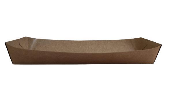 Barqueta Hot Dog Kraft  212x64x32mm 500 unidades