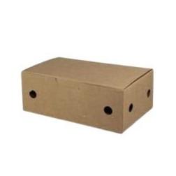 Caja fritos Pequeña Kraft 114x73x45mm 500 uni.