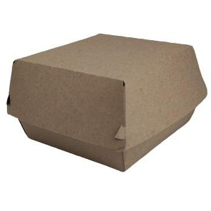 Caja hamburguesa kraft gigante 400 uni.