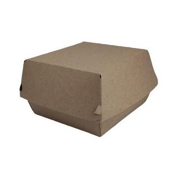Caja hamburguesa kraft grande 500 uni. [0]