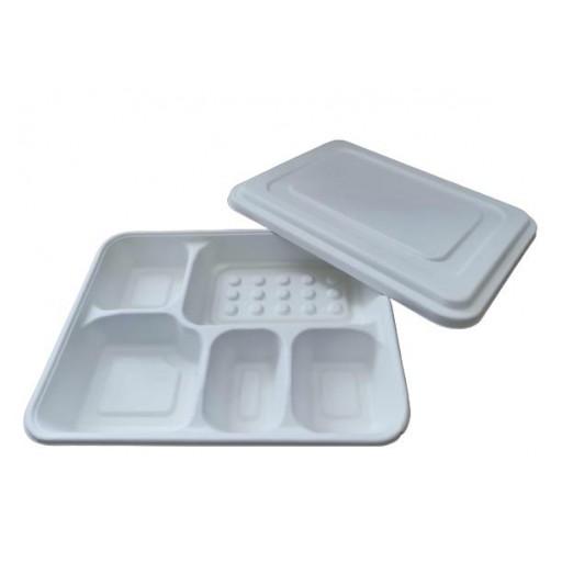 Envase caña de azúcar compartimentos 200 uni. [1]