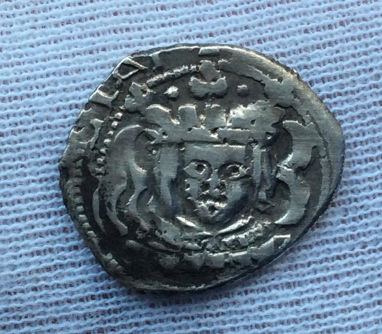 1 REAL PLATA 1624 - VALENCIA - FELIPE IV - BUSTO SIN VALOR