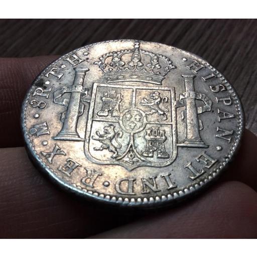 EXCELENTES 8 REALES CARLOS IV - ACUÑADOS EN 1806 EN MÉXICO TH [2]