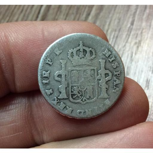 1 REAL 1784 - POTOSI - CARLOS III  [1]