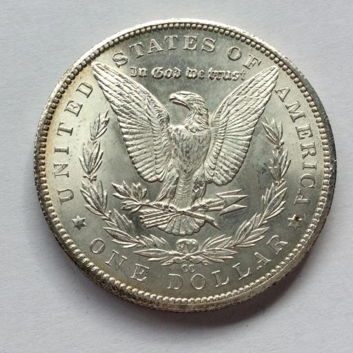 1 DOLAR MORGAN 1884  - PLATA -  Carson City - SIN CIRCULAR  [1]