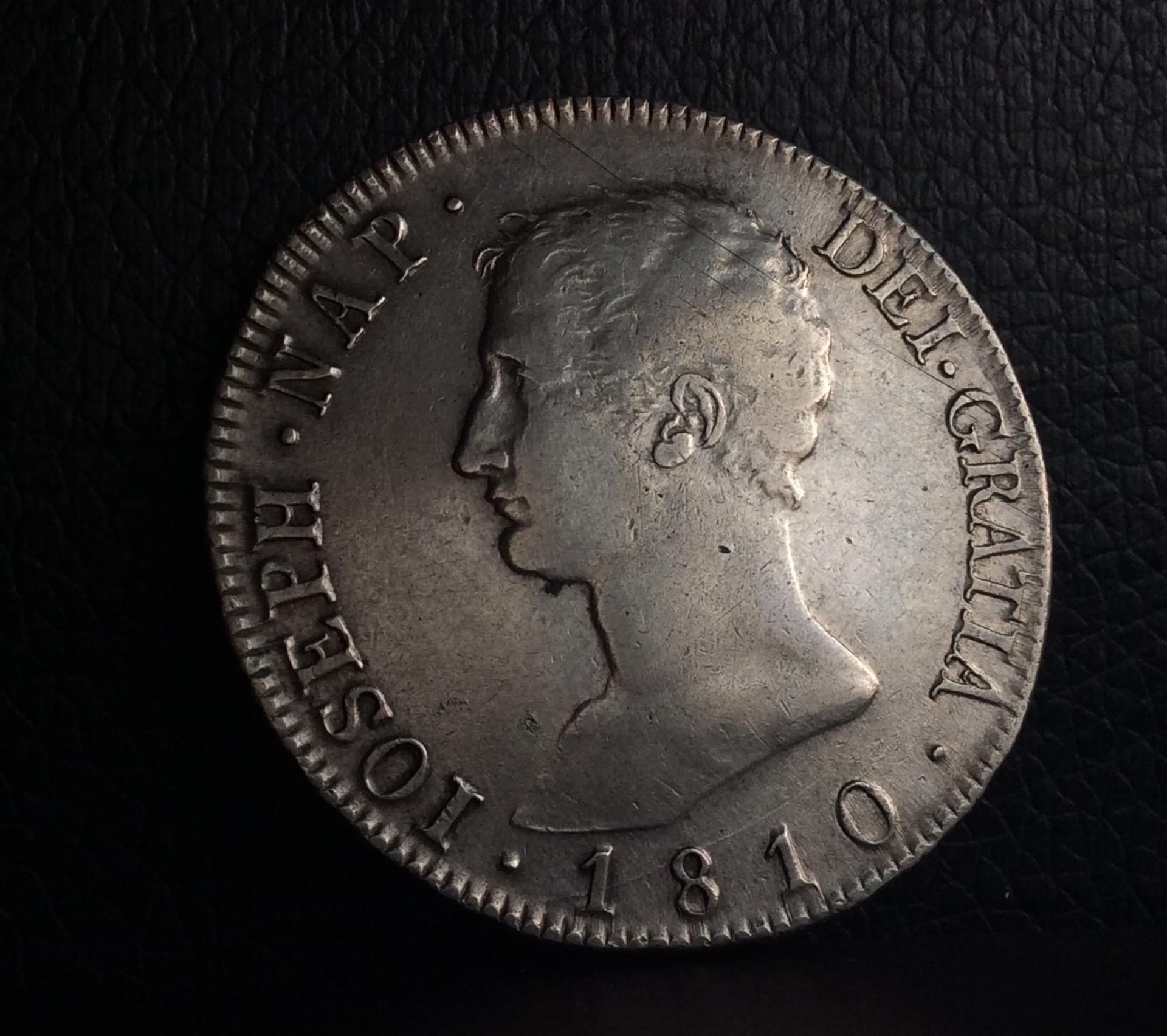 8 REALES 1810 - JOSÉ I NAPOLEÓN BONAPARTE - MADRID AI