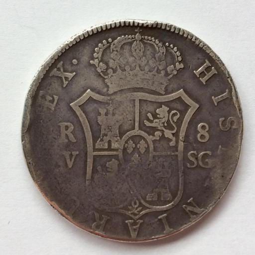 8 REALES PLATA 1811 - VSG - VALENCIA - FERNANDO VII  [1]