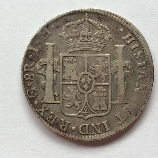 8 REALES PLATA 1822 - GUANAJUATO - FERNANDO VII  [1]