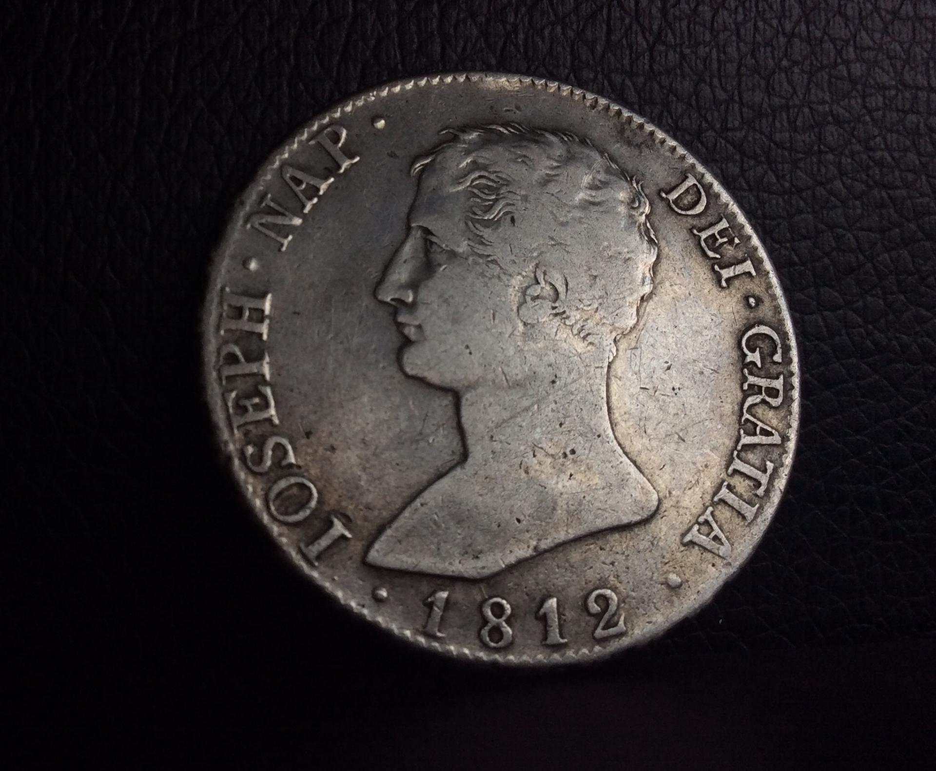 20 REALES 1812 - JOSE I NAPOLEON BONAPARTE - MADRID AI