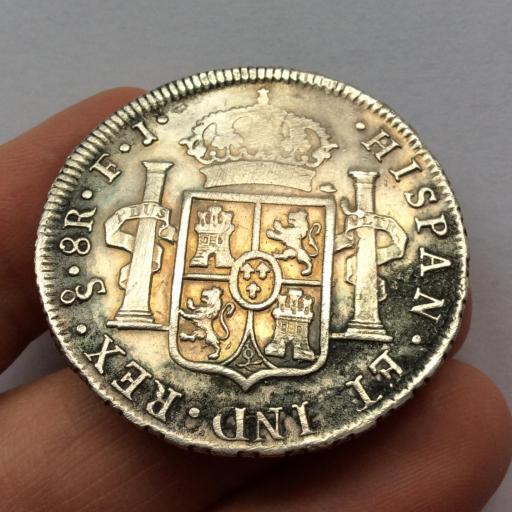 8 REALES 1808 - SANTIAGO - CARLOS IV