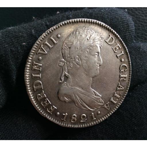 8 REALES 1821 - GUATEMALA - FERNANDO VII