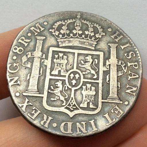 8 REALES 1819 - NUEVA GUATEMALA - FERNANDO VII [1]