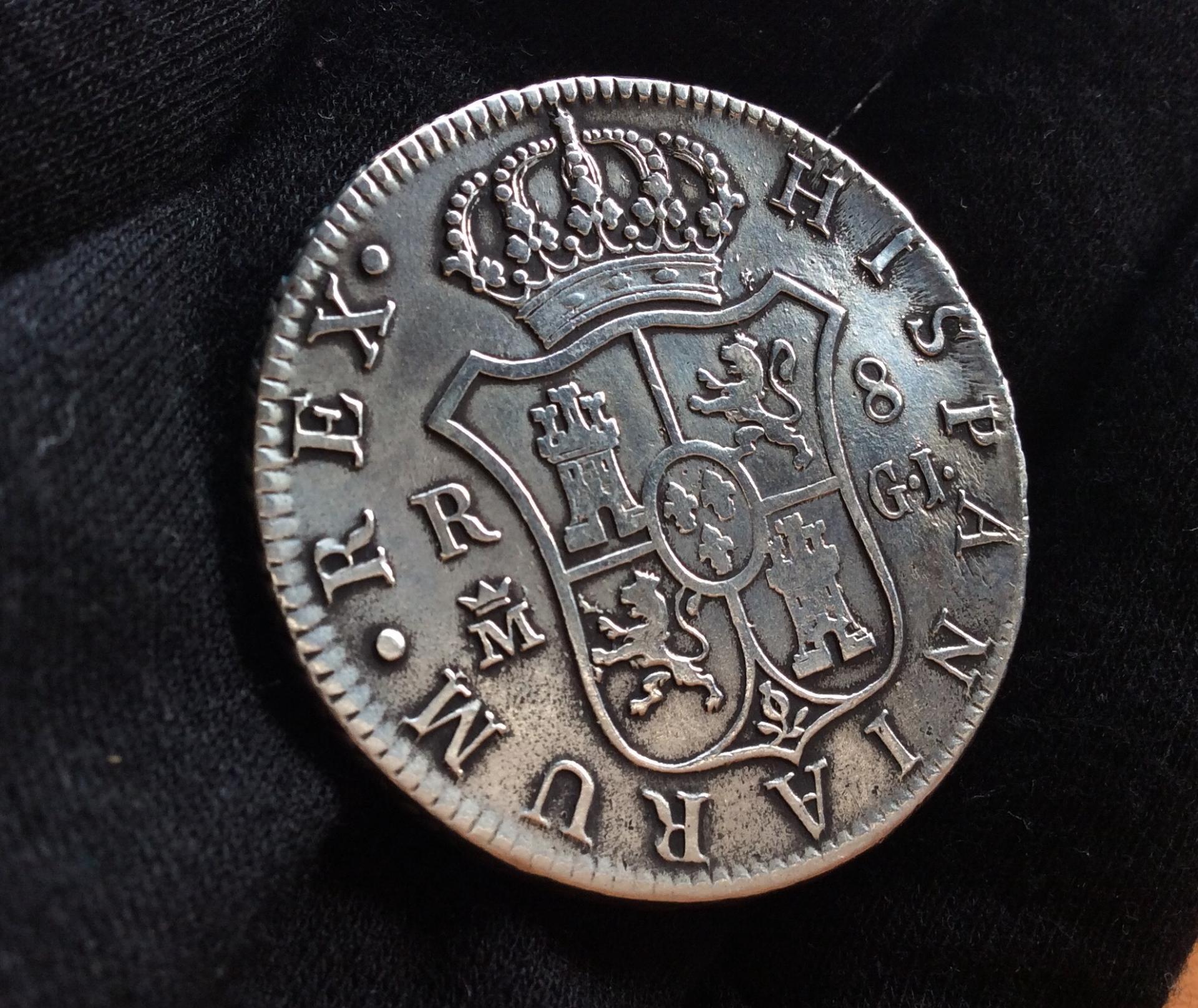 8 REALES 1815 - MADRID - FERNANDO VII