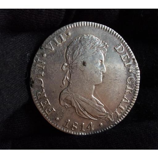 8 REALES 1814 - MÉXICO - FERNANDO VII [0]