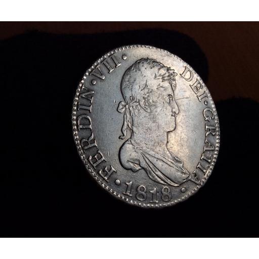 8 REALES 1818 - SEVILLA - FERNANDO VII