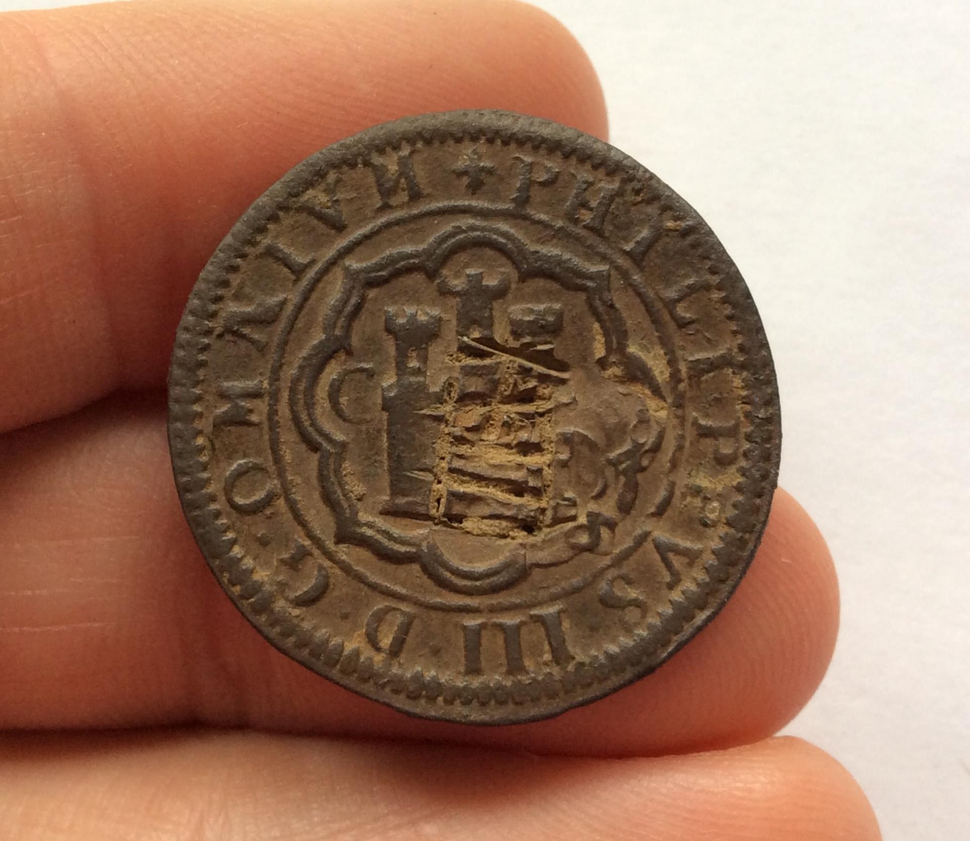 8 MARAVEDIS 1601 - FELIPE III - CUENCA - TIPO OMNIVM