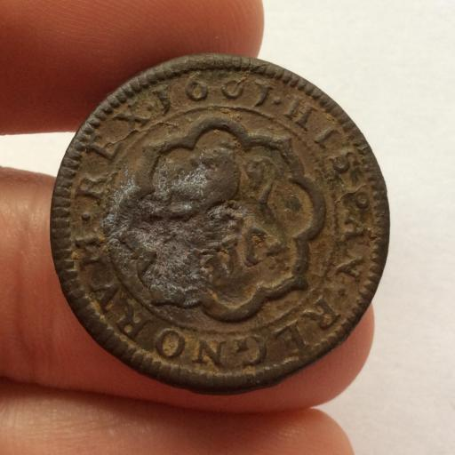 8 MARAVEDIS 1601 - FELIPE III - CUENCA - TIPO OMNIVM  [1]