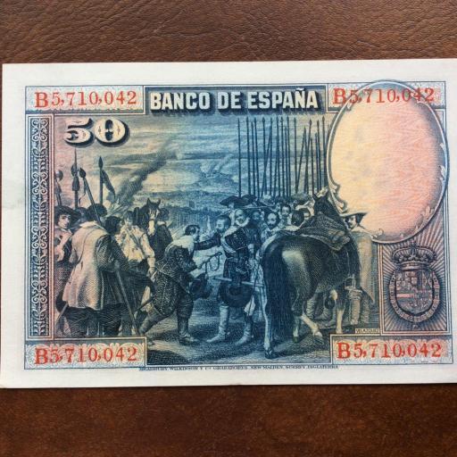 50 PESETAS 1928 - SIN CIRCULAR - ALFONSO X EL SABIO [1]