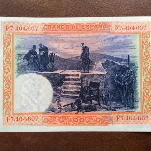 100 PESETAS 1925 - SIN CIRCULAR - FELIPE II [1]