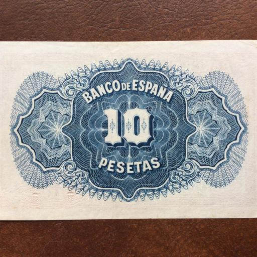 10 PESETAS 1935 - SIN CIRCULAR - II REPUBLICA  [1]