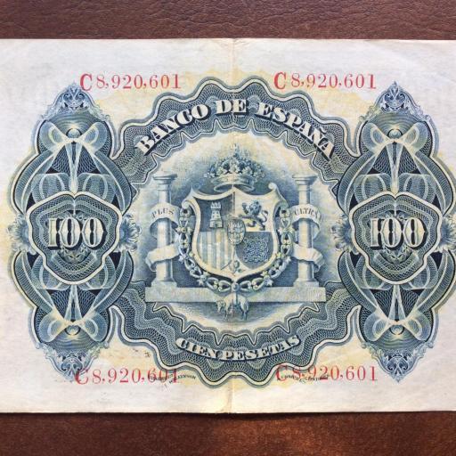 100 PESETAS 1906 - ALEGORÍAS - ALFONSO XIII [1]