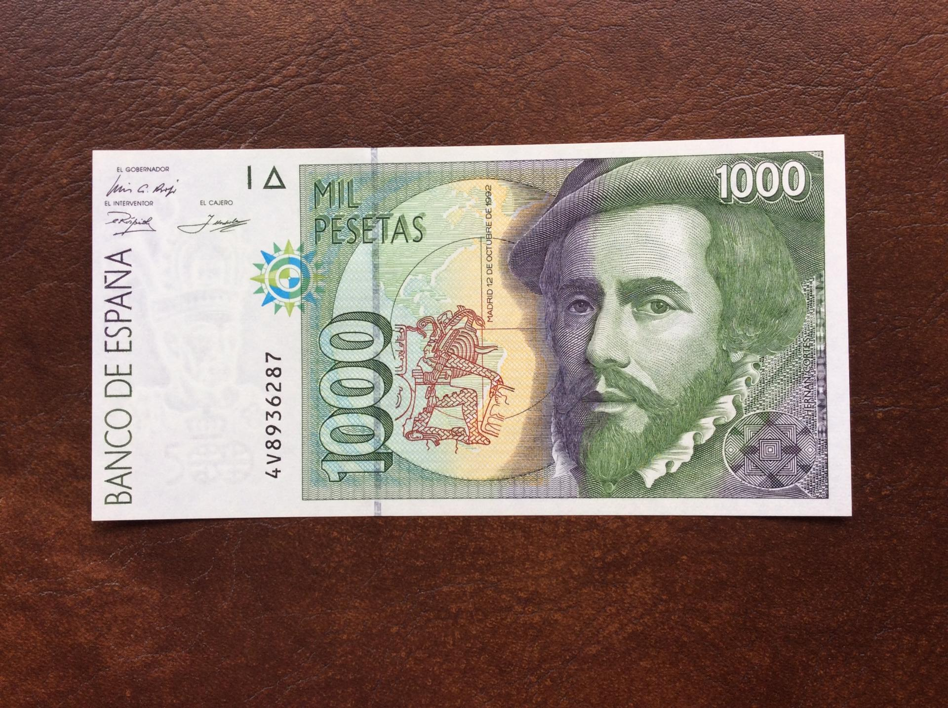 1000 PESETAS 1992 - SIN CIRCULAR