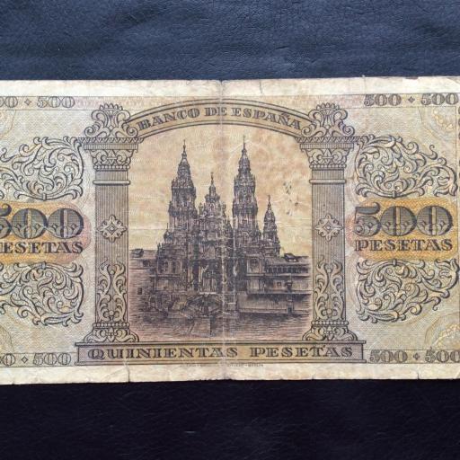 500 PESETAS 1938 - GUERRA CIVIL - BURGOS - ESCASO [1]
