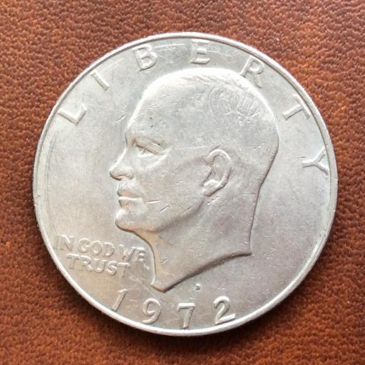 1 DOLLAR 1972 - EISENHOWER - ESTADOS UNIDOS  [2]