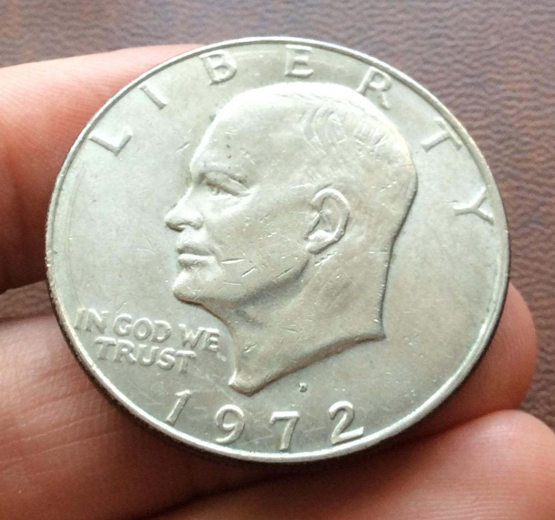 1 DOLLAR 1972 - EISENHOWER - ESTADOS UNIDOS