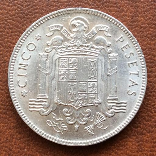5 PESETAS 1949 *19*50 - ESTADO ESPAÑOL - FRANCO