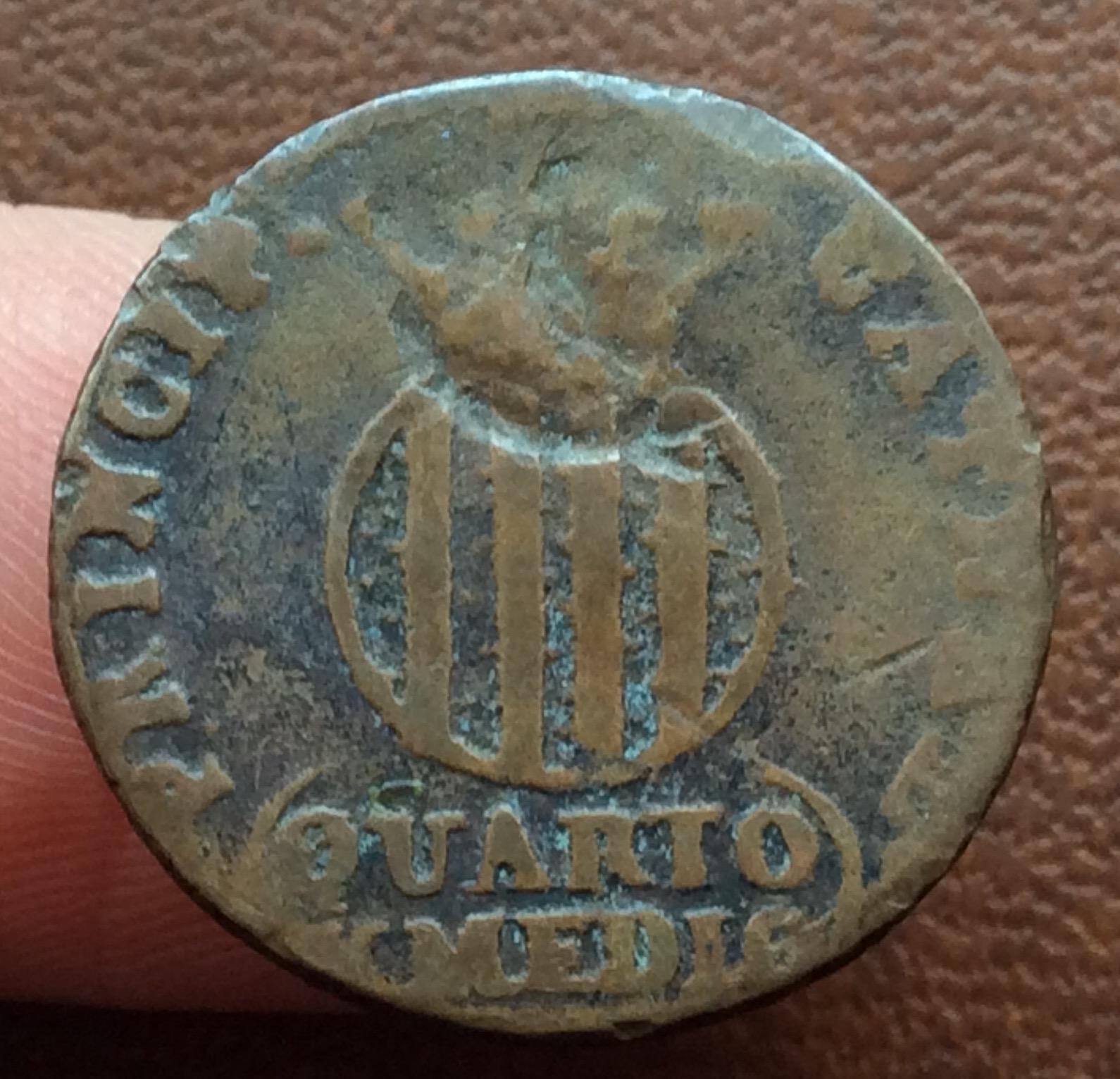 QUARTO Y MEDIO DE 1813 - FERNANDO VII - BARCELONA