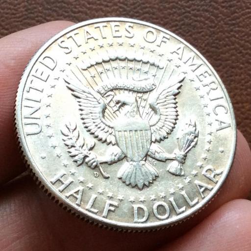 HALF DOLLAR DE PLATA DE 1964 - KENNEDY  [1]
