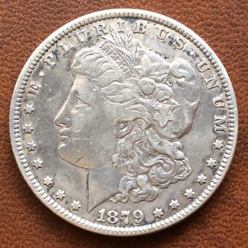 DOLLAR MORGAN DE PLATA DE 1879 - CECA DE PHILADELFIA  [2]