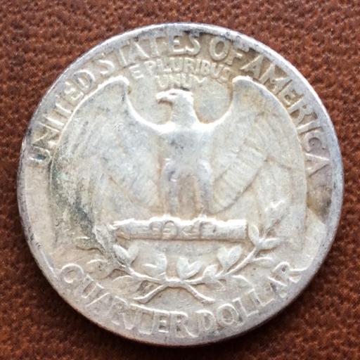 QUARTER DOLLAR DE PLATA DE 1949 - G. WASHINGTON - PHILADELFIA  [2]