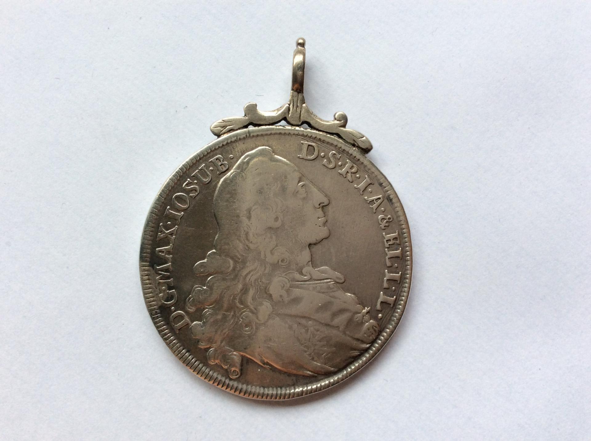 ESCASO 1 THALER 1770 - MAXIMILIANO III - PATRONA BAVARIA