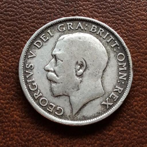 ONE SHILLING PLATA 1912 - GEORGE V - REÍ DE GRAN BRETAÑA  [1]