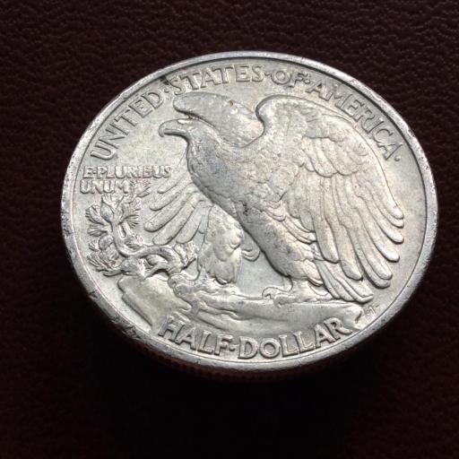 HALF DOLLAR PLATA 1942 - LIBERTY - ESTADOS UNIDOS  [1]